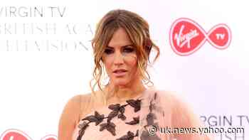 Caroline Flack's boyfriend posts picture with TV star after assault charge