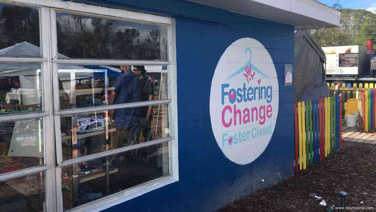 Foster Closet Opens to Help Families in Pasco County