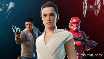 Fortnite reveals exclusive Star Wars trailer in game, but some users can't log in