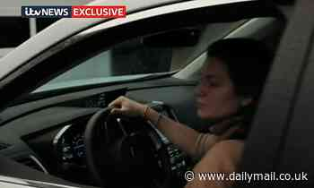 U.S diplomat's wife 'who hit and killed teenager Harry Dunn' is seen driving for the first time