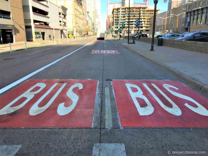 Designated Bus Lane Coming To 17th Street