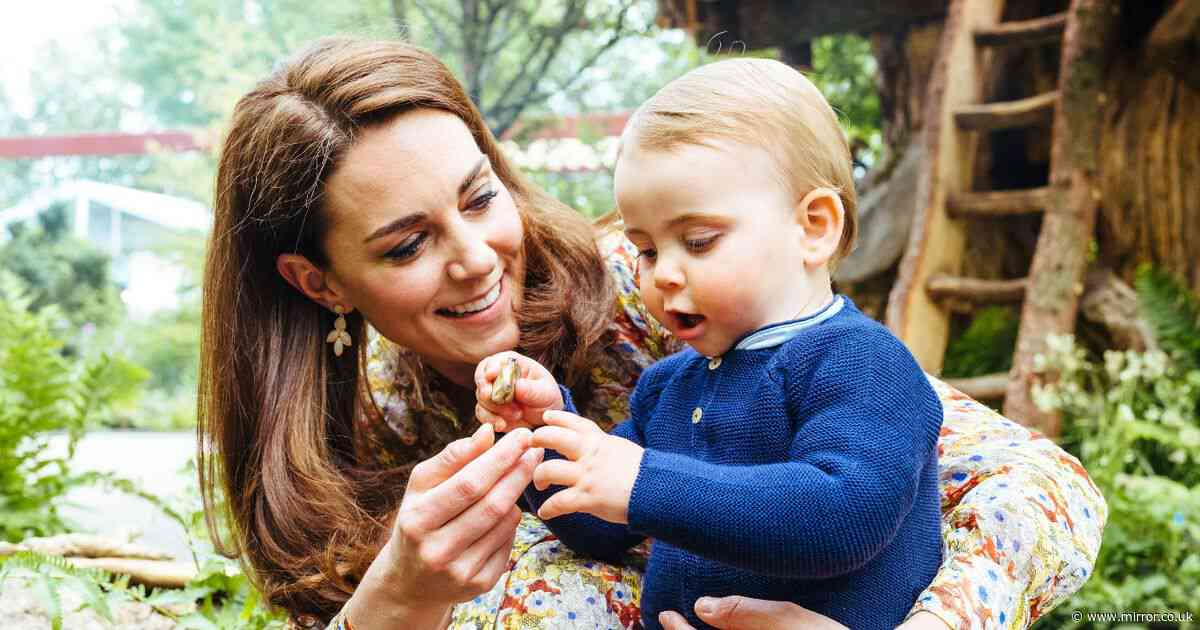 Kate Middleton says Bake Off fan Prince Louis' first words were 'Mary Berry'
