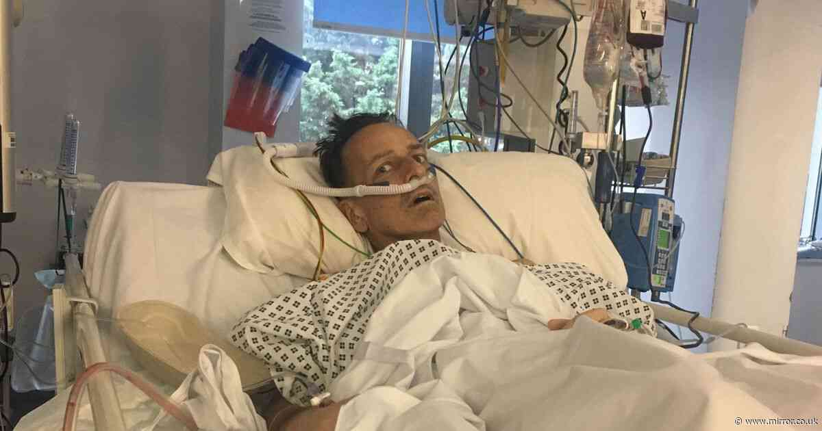 Dad feared he wouldn't see Christmas after being denied expensive NHS treatment