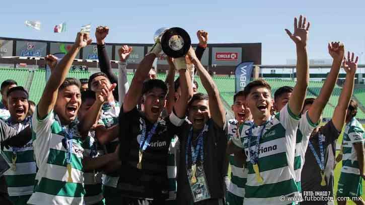 Santos remonta y es campeón Sub-20