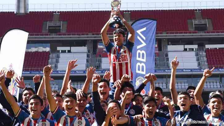 Chivas derrota a Pachuca y es campeón Sub-17