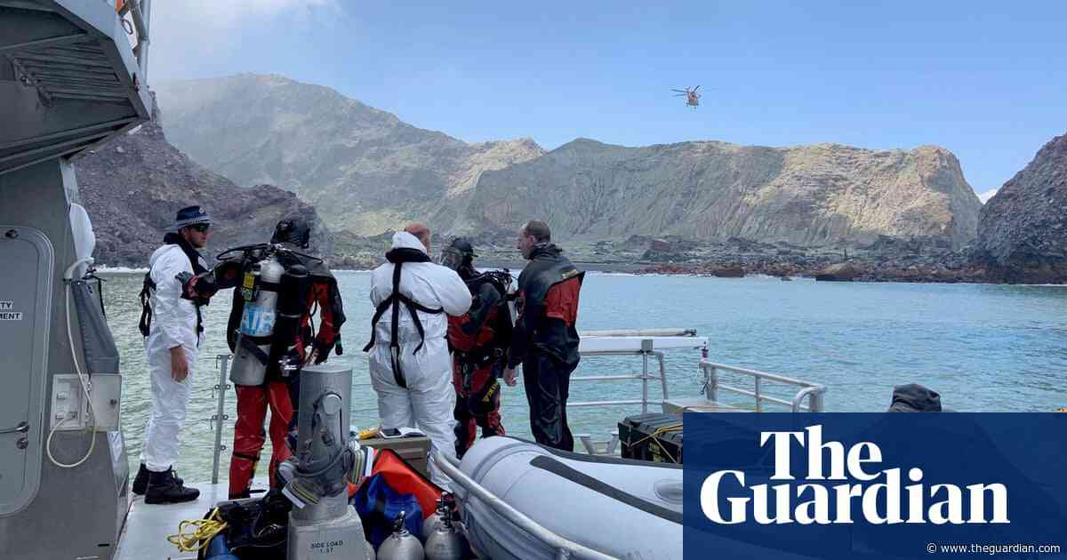 New Zealand volcano disaster: recovery team unable to find last two bodies on White Island