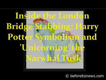 Inside the London Bridge Stabbing Attack: Harry Potter Symbolism and the Narwhal 'Unicorning' Tusk