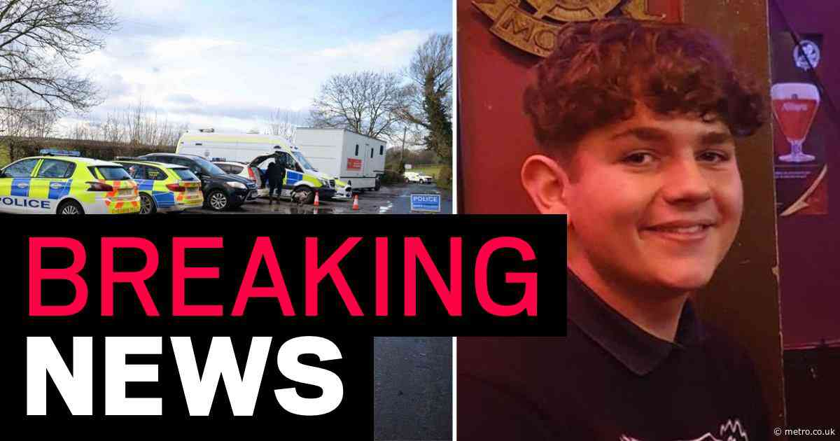 Man,18, charged with murder after missing teen's body found on country lane