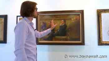 Manatee County Artist Rolf Hellem, 21, Opens New Classical Art Exhibit