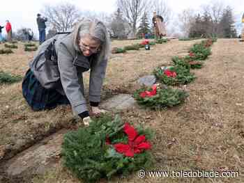 "Freedoms ""have not come without a price"": Service of veterans honored with wreaths"