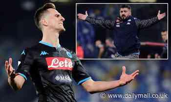 Napoli 1-2 Parma: Hosts begin life under Gennaro Gattuso with home defeat