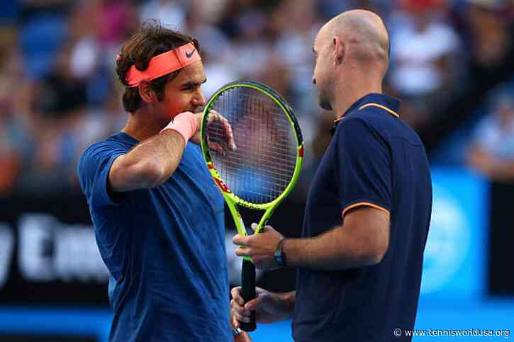 Roger Federer's coach was a special guest at the Diriyah Cup - Organizer