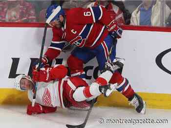 Liveblog: Wings up 1-0 on Habs through 40 minutes