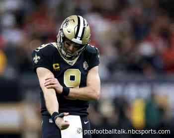 "Saints rule out five, but Drew Brees is ""all good"" for Monday night"