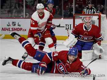 Laval native Bernier backstops Detroit to 2-1 win over Canadiens
