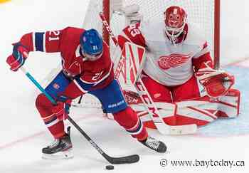 Bernier makes 42 saves, as Red Wings down Canadiens 2-1 for 2nd straight win