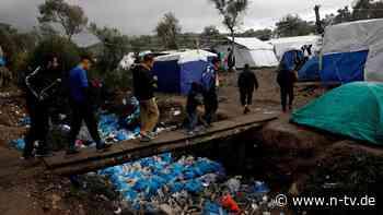 Griechenland macht Druck: Bund soll Lesbos-Flüchtlinge aufnehmen