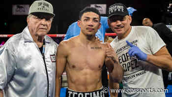Teofimo Lopez Jr. rocks Richard Commey early, scores vicious knockout to claim lightweight title