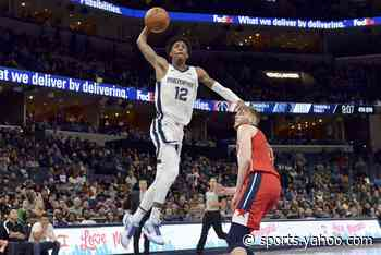 Brooks, Clarke lead Grizzlies to 128-111 win over Wizards