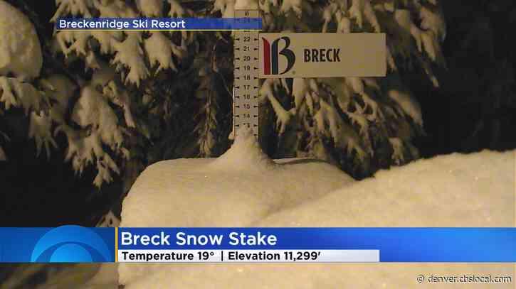 Major Mountain Storm Drops Epic Amounts Of Snow