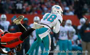 Dolphins waive Marcus Sherels, promote Montre Hartage