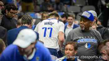 Luka Doncic injury update: X-Rays negative on Mavericks' star's ankle, but unlikely to play Monday vs. Bucks