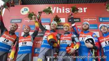Weltcup in Whistler: Zweiter Saisonsieg für Rodel-Doppelsitzer Eggert/Benecken