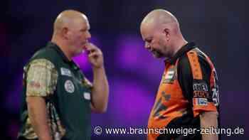 Favoritenscheitern: VanBarneveld und Cross bei Darts-WM schon raus