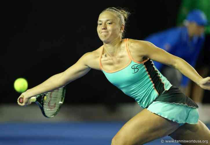 Kateryna Bondarenko Aiming for Top 20 in Next 18 Months