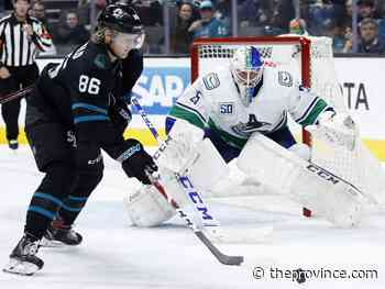 Canucks 2, Sharks 4: Canucks assist in breaking Sharks' losing streak