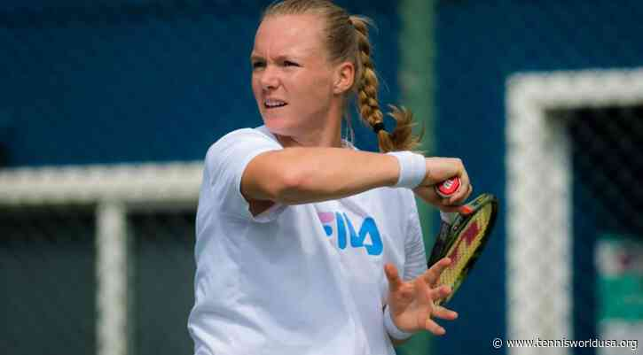 Kiki Bertens Denies Reports She Wants Money to Play in the Olympics