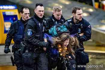 Actievoerders Schiphol: 'We komen terug, buiten of op de landingsbaan'