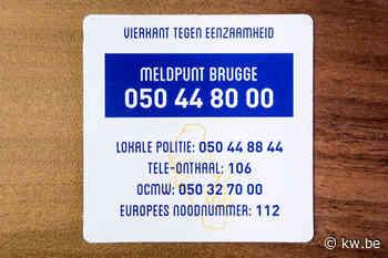 """Weer twee mensen eenzaam gestorven in Brugge: """"Geen beweging te zien? Verwittig ons dan"""""""