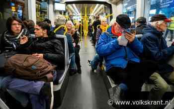 Eerste rit Utrechtse Uithoflijn: 'Iedereen zat naar dit moment te snakken'