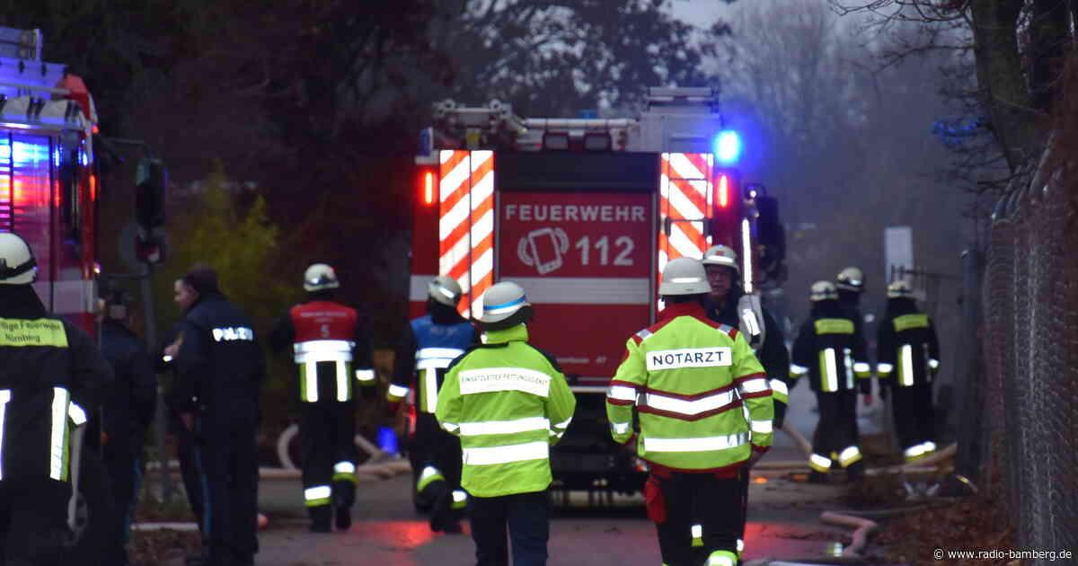 Großbrand in Nürnberger Lagerhalle