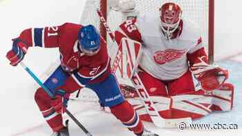 Jonathan Bernier stands tall as Red Wings snap Habs' 3-game win streak
