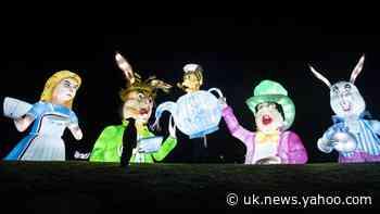 In Pictures: Winter wonderland illuminates Yorkshire nights