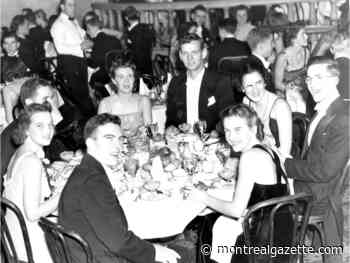 History Through Our Eyes: Dec. 15, 1939, McGill's junior prom