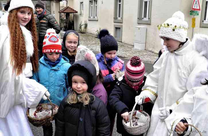 Winter-Weihnacht mit Christkindbesuch