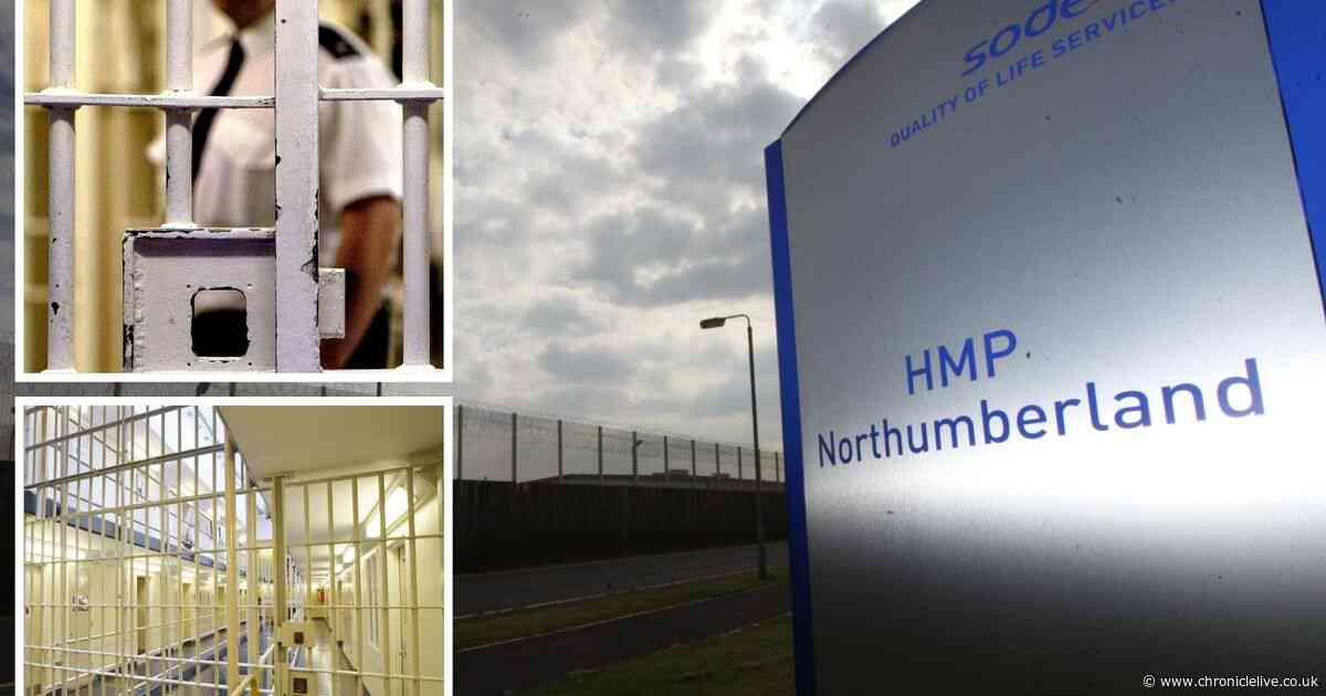 Rapist who abused young girls and boys dies behind bars in HMP Northumberland