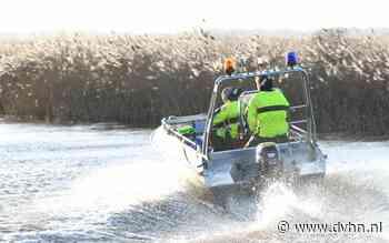 Boot omgeslagen op Zuidlaardermeer, twee vissers onderkoeld