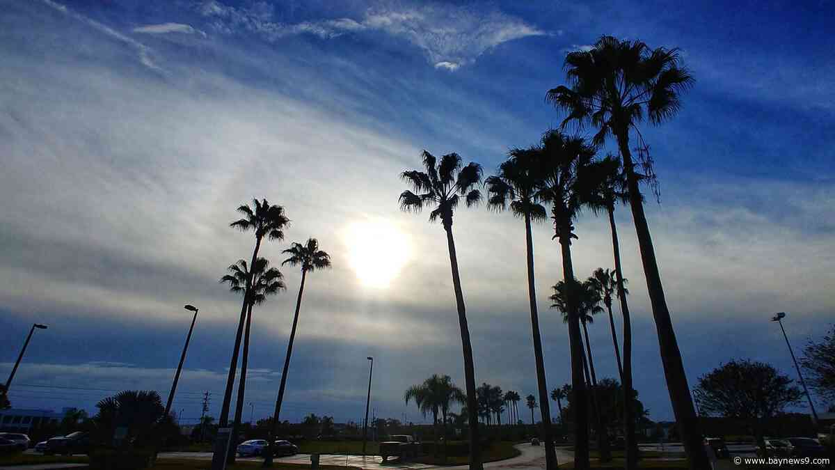 Weather Forecast: Comfortable Sunday, Highs in the 70s