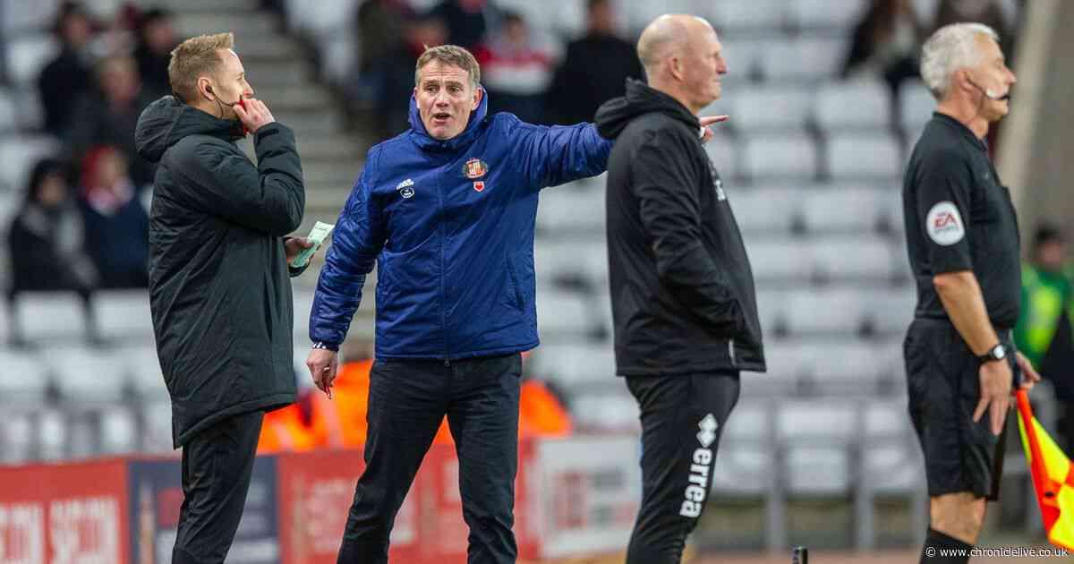 Why Simon Grayson felt Blackpool should have left Sunderland with all three points