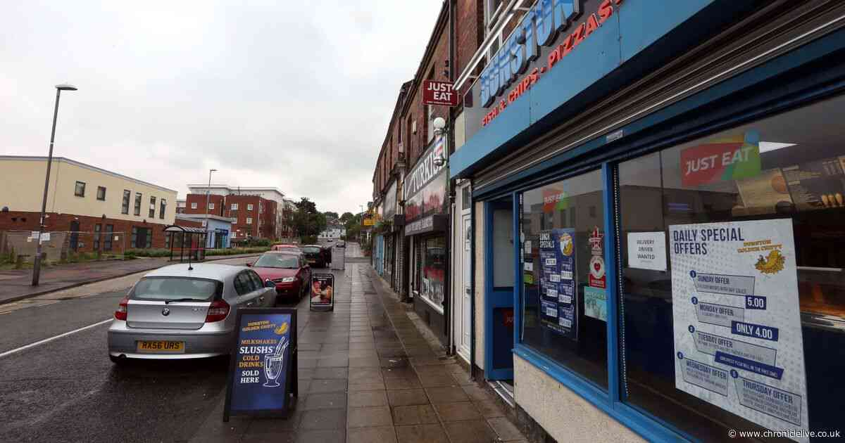 Drug addict threatened to kill Gateshead chip shop owner before punching him in the face