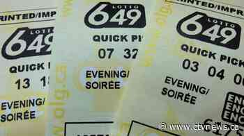 $9-million Lotto 649 jackpot won by ticket sold in Quebec