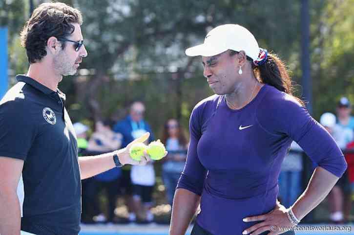 Coach praises Serena Williams for desire to keep improving