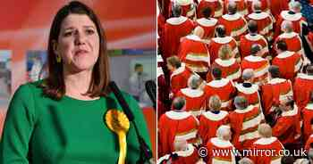 Jo Swinson could be parachuted into House of Lords after disastrous Lib Dem leadership