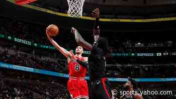 Watch Zach LaVine's driving and-1 game-winner to lift Bulls past Clippers
