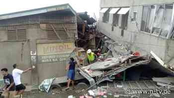 Mindestens vier Tote: Erdbebenserie erschüttert die Philippinen
