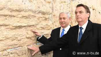 Bolsonaros Geschenk an Netanjahu: Brasilien plant Botschaft in Jerusalem